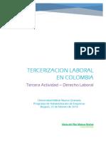 Segunda Actividad Derecho Laboral