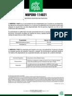 MBPERO-114021