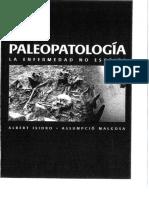 APARICIO y MALGOSA. Paleopatología. La Enfermedad No Escrita. 2003