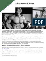 Rutina de Hipertrofia Explosiva de Arnold Schwarzenegger