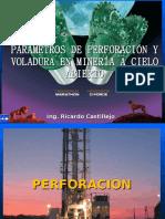 PARAMETRO DE PERFORACION Y VOLADURA FIMGM 2.ppt