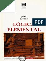 Rivano, Juan - Lógica elemental.pdf