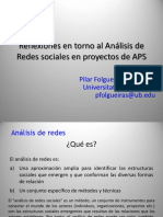 Análisis Redes y Proyectos de APS. UCINET