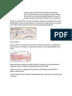 Clases de Cheque de Factura y Vale