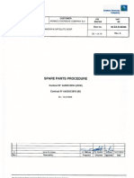 ev. a _Spare Parts Procedure