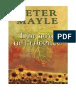 Peter Mayle - Din Nou in Provence v 1.0