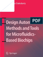 Design Automation Methods and Tools for Microfluidics