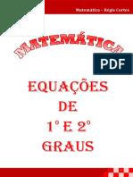 4 Equações de 1 e 2 Graus