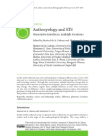 Anthropology and STS