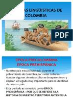Familias Lingüísticas de Colombia Diapositivas