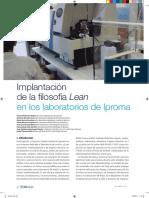 Procesos Sistemas Implantacion Lean Laboratorios Iproma Tecnoaqua Es