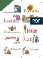 Tarjetas de AT para enseñanza bíblica de niños