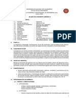 Silabo de Concreto Armado II (UNC 2018-V)