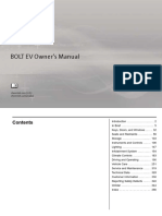 2018 Chevrolet Bolt Ev Owners Manual
