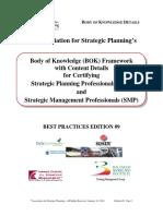 BOK Framework 2011