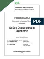 Saúde ocupacional e ergonomia