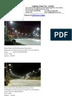 Led Streetlight Projects