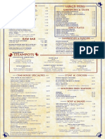 Charleston Crab House Menu
