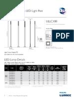 SoleCity Data Sheet Led Light Column