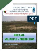 Drenaje Agricola Salinidad Producción