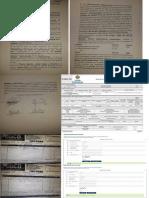 Documentos de la denuncia de Luis Felipe Dorado