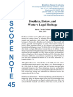 Bioethics biolaw and western legal heritage - CARTIER POLAND, Susan.pdf
