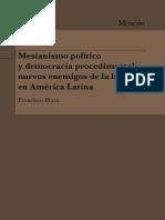 Mesianismo Politico y Democracia Procedimental, Plaza
