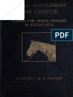 Hayes - Stable Management and Exercise - 1900