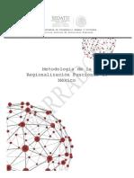 Metodología de la  Regionalización Funcional de México.pdf