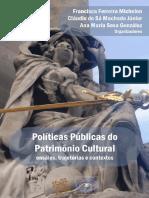 Livro Politicas Publicas Do Patrimonio Cultural Ensaios Trajetorias e Contextos eBook (1)