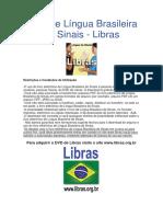 Livro de Libras