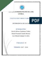 Divergencia de Gauss Final