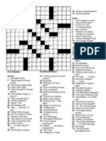 Fire Emblem Crossword