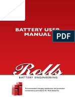 Rolls Battery Manual