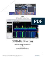 SDR Console V3 SDRPlay RSP QuickGuideTips