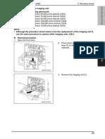 Bizhub C203_C253_C353 Replacing the Imaging Unit