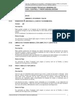 Especificaciones Tecnicas Desague de Erene