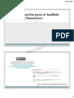La Informacion Para Analisis Financiero