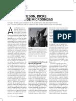 Artículo Penzias, Wilson, Dicke y El Fondo de Microondas