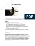 The Thing Rules - Director's Cut v2.3