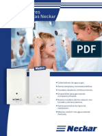Catálogo de Calentadores de Agua Neckar 2016
