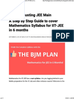 A Step by Step Guide to cover Mathematics Syllabus for IIT-JEE in 6 months - Busting JEE Main.pdf
