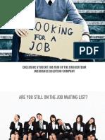 Nov 23 Job Fair Info