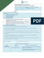 Planificación Segundo Medio 2016 Unidad I, Lección 1, 2, 3