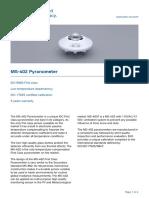 MS 402 Pyranometer