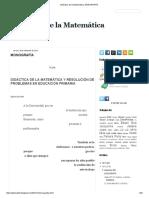 Didáctica de La Matemática_ MONOGRAFÍA