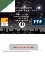 Cosmología Moderna, Materia Oscura y Energía Oscura.