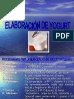 COMO PRODUCIR YOGURT Casero e Industriañ