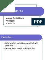 2.16.10 Davis-Hovda Psoaritic Arthritis.ppt