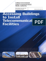 Accessing Buildings to Install Telecommunications Facilities
